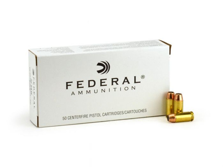 FEDERAL 40S&W HI-SHOK 155GR JHP (40SWB) - 50 ROUNDS