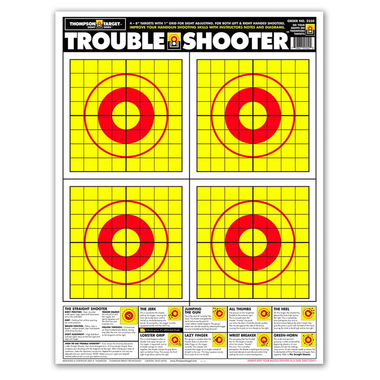 image about Printable Pistol Correction Chart identify Handgun capturing remaining