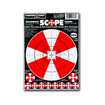 Scope Alignment Adhesive Peel and Stick Sight In Zeroing Gun Rifle Shooting Targets by Thompson