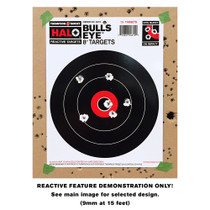 Small HALO Reactive Splatter Gun Shooting Target Demonstration