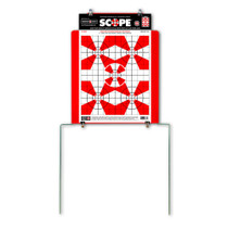 Quik-Stand Target Stand & 10 Paper Shooting Targets Demo