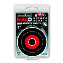 "Thompson Target HALO Stick-Um-Up 3"" Adhesive Reactive Splatter Shooting Targets - Front"