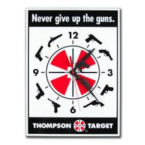 Thompson Target 2nd Amendment Gun Rights Wall Clock