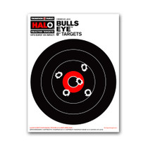 "HALO 8"" Bullseye Reactive Splatter Gun Shooting Targets by Thompson"