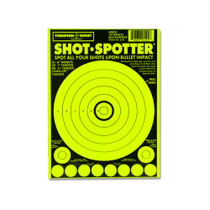 Shot Spotter Green Adhesive Peel & Stick Gun Shooting Targets by Thompson
