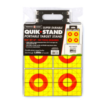Quik-Stand Portable Durable Reusable Outdoor Plastic Gun Shooting Target Stand for rifle & pistol by Thompson - packaged