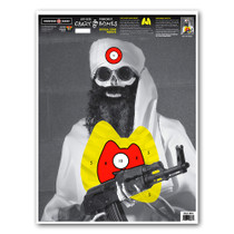 "Crazy-Bones Terrorist Isis 19""x25"" Paper Shooting Targets by Thompson"