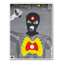 "Crazy-Bones Knife Terrorist Isis 19""x25"" Paper Shooting Targets by Thompson"