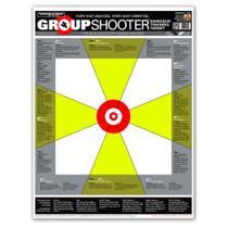 Group Shooter Handgun Diagnostic Training Paper Targets