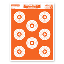 "Basic Training Bullseye 19""x25"" Economy Paper Shooting Targets by Thompson"