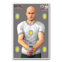 3D Bad Guy - Paper Shooting Targets