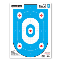 "B27-Shield Defense Training - 19""x25"" Paper Shooting Target"