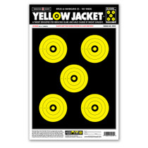 "Yellow Jacket 12.5""x19"" Paper Shooting Targets by Thompson"