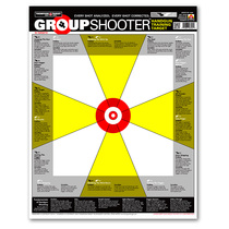 Group Shooter Handgun Diagnostic Training Paper Shooting Targets by Thompson
