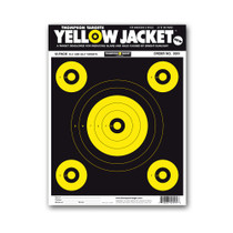"Yellow Jacket 9""x12"" Paper Bullseye Gun Shooting Targets by Thompson"