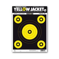 "Yellow Jacket 9""x12"" Paper Bullseye Gun Shooting Targets by Thompson"