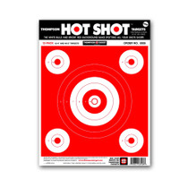 "Hot Shot 9""x12"" Paper Bullseye Shooting Range Targets by Thompson"