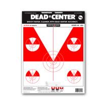 Dead Center Paper Open Sight & Iron Sight Skirmish Bullseye Targets by Thompson