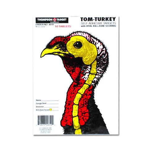 Life Size Turkey Hunting Adhesive Peel & Stick Shotgun Shooting Targets by Thompson