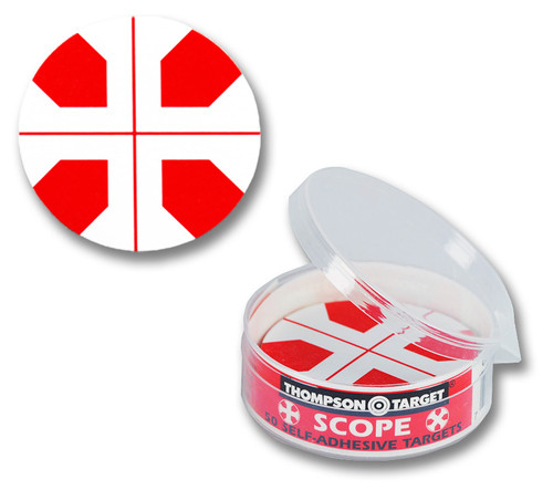 Rifle Scope Sight-In Adhesive Shooting Targets by Thompson