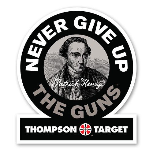 Patrick Henry 2nd Amendment Gun Rights Poster by Thompson Target