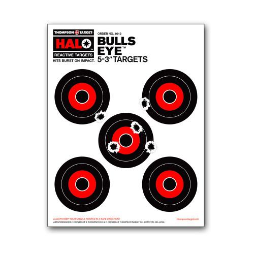 """HALO 5 Bullseye 3"""" Reactive Splatter Gun Shooting Targets by Thompson"""