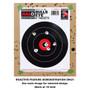 Small HALO Reactive Splatter Gun Shooting Targets Demonstration