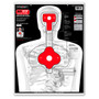 B27STOP Upper Torso Human Silhouette Shooting Targets by Thompson