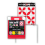 Quik-Stand Target Stand & 10 Paper Shooting Targets by Thompson