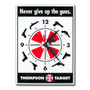 Thompson Target 2nd Amendment Gun Rights Wall Clock