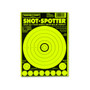 Shot Spotter Green Adhesive Peel & Stick Gun Shooting Targets by Thompson