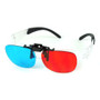 Thompson Target High Definition Clip On 3D Glasses - Down