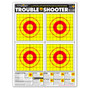 Trouble Shooter Handgun Diagnostic Training Ultra Bright Paper Targets