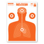 Basic Training Life Size Human Silhouette Paper Economy Shooting Targets by Thompson