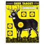 Ultra Bright Deer Target with Rifle Trajectory Chart