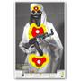 "Crazy-Bones Terrorist Osama Bin Laden ISIS 25""x38"" Paper Shooting Target by Thompson"