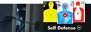 Thompson Human Silhouette Self Defense Shooting Targets