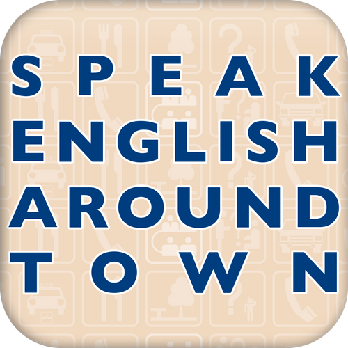 Speak English Around Town is now available as a course!