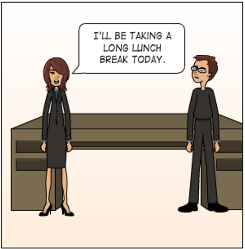 She's all Business ... Learn useful idioms for work!