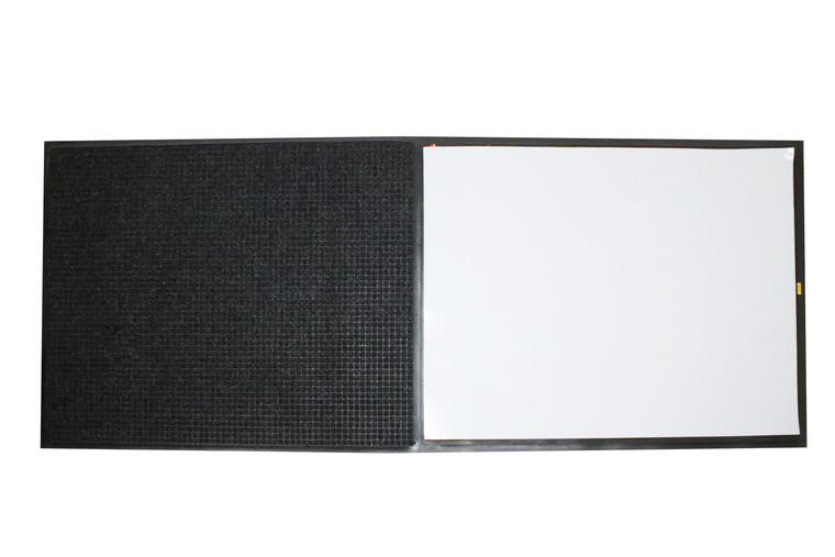 Clean Stride | Rubber Frame with WaterHog Mat