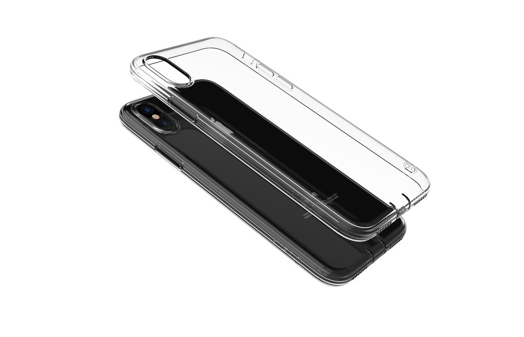 iPhone X/XS - Anti-shock soft Transparent