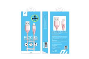 Blitz LED Light USB Cable for Apple iOS8 & 9 & 10