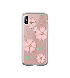iPhone XR- Blossom Crystal Case Pink