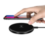 Aurora Series Ultra-Slim Wireless Charger - Black