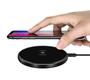 Aurora Series Ultra-Slim Wireless Charger - Black