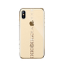 Devia Lucky Star Crystal Case Gold, iPhone X/XS phone cases, best iphone cases, custom phone cases, Swarovski cases