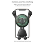 Smart Series Wireless Quick Charger Car Mount Radiation proof