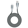 Shark series supercharge USB to TYPE- C braid Cable(5A,1.5M)