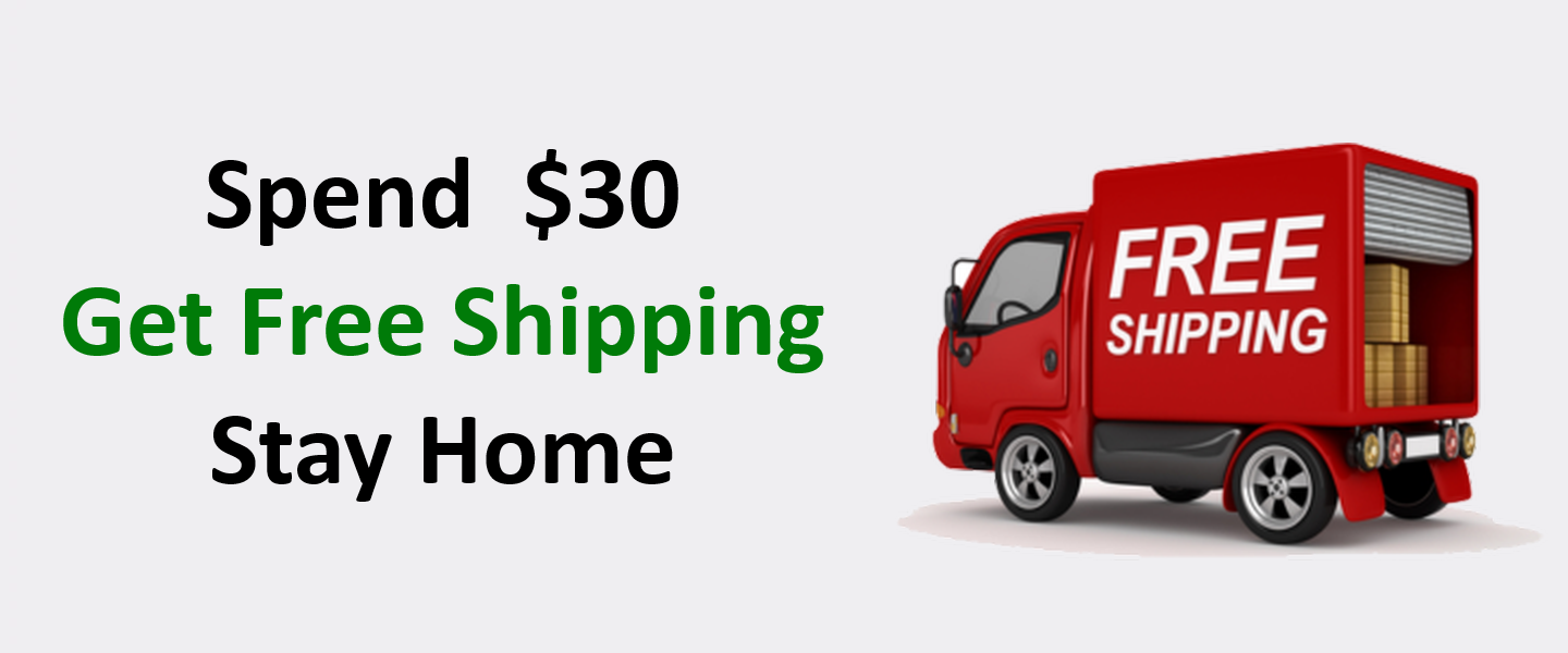 Spend $30 .. Get Free Shipping