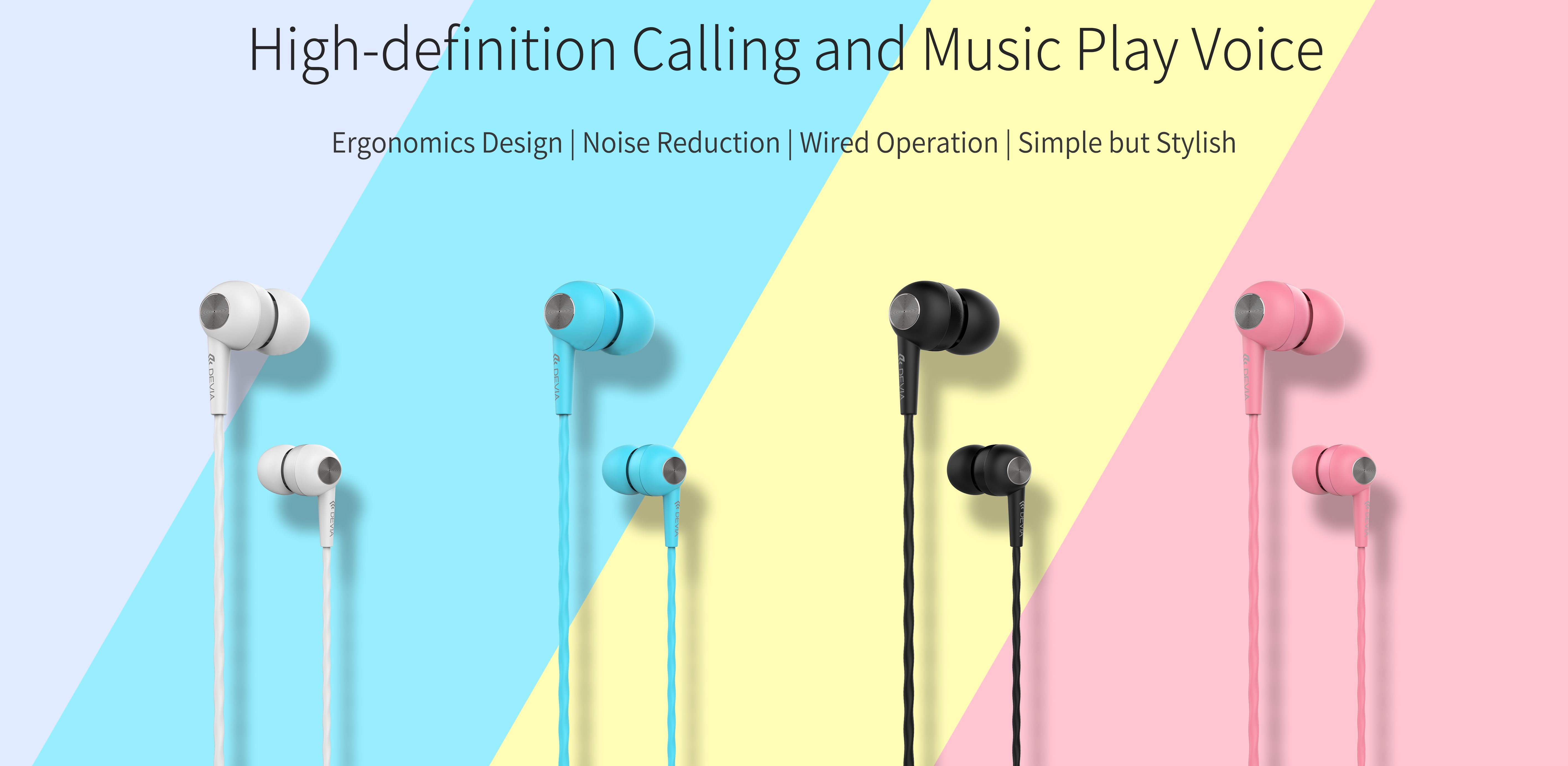 The ultra lightweight, Kintone In ear Wired Earphone with Remote and Mic feature with noise reduction will allow you to flow in your world of music,